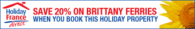 Holiday France Direct - Save on Brittany Ferries when you book this property